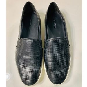 Vince. Perforated Leather Blair Sneaker Size 9